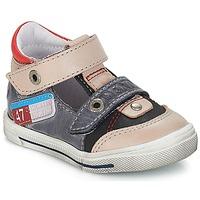 Zapatos Niño Sandalias GBB PEPINO Vte / Gris-jeans / Dpf / Snow