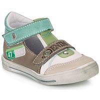 Zapatos Niño Sandalias GBB PEPINO Blanco / Verde / Topotea