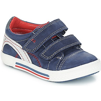 Zapatos Niño Zapatillas bajas Catimini PERRUCHE Nus / Marino-rojo / Dpf / Strike