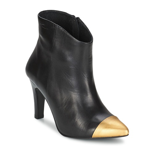 Zapatos Mujer Botines Pastelle ARIEL Negro-oro