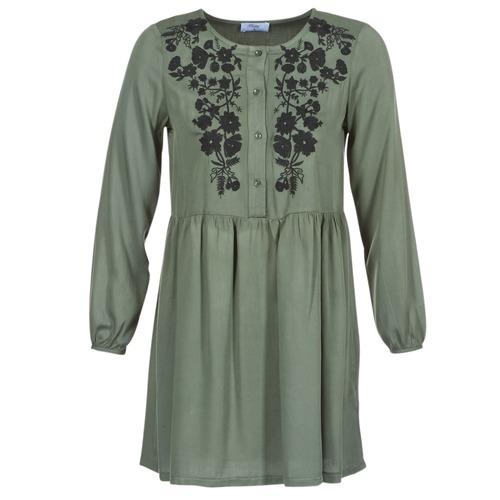 Vestidos Jaraza Mujer Kaki Betty London Cortos Textil lF153uTcKJ