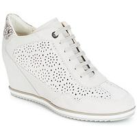 Zapatos Mujer Zapatillas altas Geox D ILLUSION Blanco