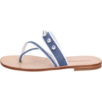 Zapatos Mujer Sandalias Eddy Daniele AW229 Azul