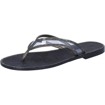 Zapatos Mujer Sandalias Eddy Daniele AW682 Gris