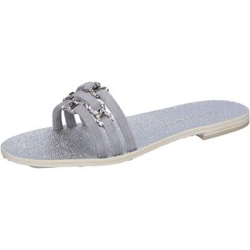 Zapatos Mujer Sandalias Eddy Daniele AW236 Gris