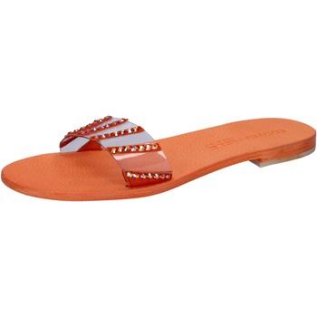 Zapatos Mujer Sandalias Eddy Daniele AW449 Naranja