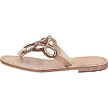 Zapatos Mujer Sandalias Eddy Daniele AS78 Marrón