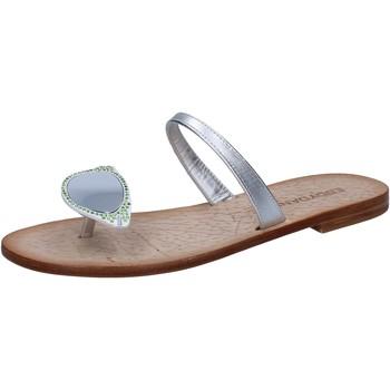 Zapatos Mujer Sandalias Eddy Daniele AW216 Plata