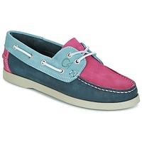 Zapatos Mujer Zapatos náuticos Casual Attitude RATAKO Fucsia / Gris / Marino