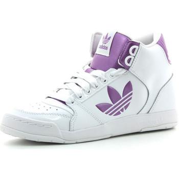 Zapatos Mujer Zapatillas altas adidas Originals Midiru Court 2.0 TR Blanco / Rosa