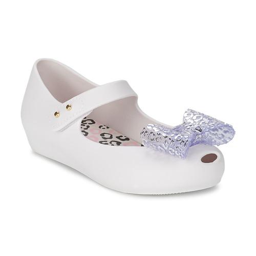 Zapatos Niña Bailarinas-manoletinas Melissa MINI ULTRAGIRL MINNIE MOUSE Blanco
