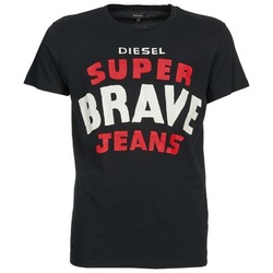 textil Hombre camisetas manga corta Diesel T-ASTERIOS Negro