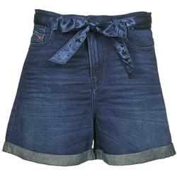 textil Mujer Shorts / Bermudas Diesel DE-KAWAII Azul