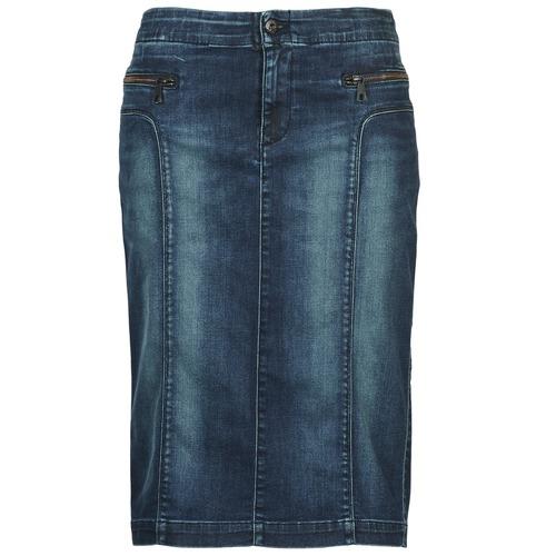 textil Mujer Faldas Diesel DE-TRENKER Azul