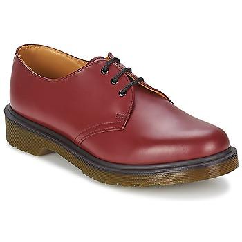 Zapatos Hombre Derbie Dr Martens 1461 PW Rojo / Cereza