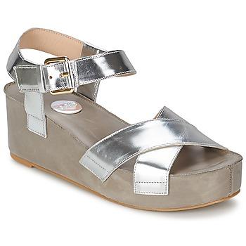 Zapatos Mujer Sandalias RAS NIOBE Plateado