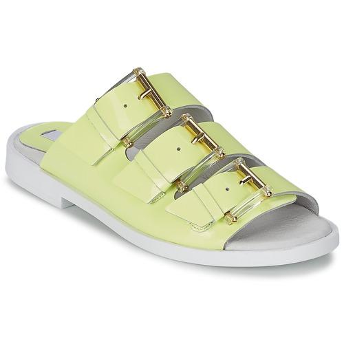 Los últimos zapatos de descuento para hombres y mujeres Zapatos especiales Miista EMMIE Amarillo