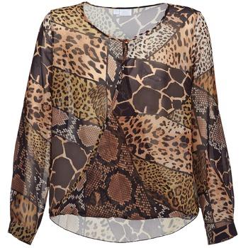 textil Mujer Tops / Blusas Alba Moda ANINA Marrón