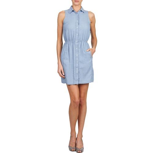 Azul Vestidos Textil Gant Jacquard OIndigo Cortos Mujer uXkiPZO