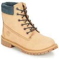 Zapatos Niños Botas de caña baja Timberland 6 In Premium WP Boot Iced / Coffee