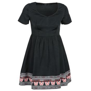 textil Mujer vestidos cortos Eleven Paris NANA Negro