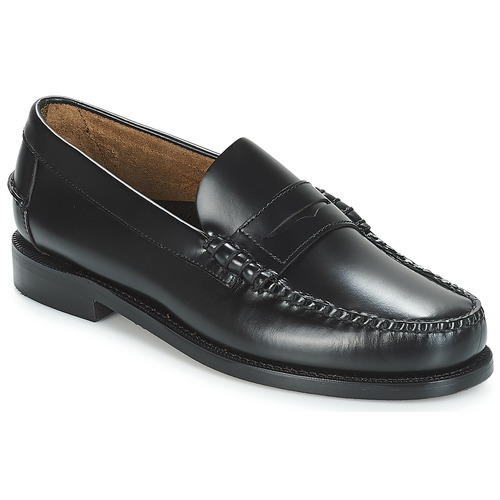Zapatos Hombre Mocasín Sebago CLASSIC PENNY BRUSHED Negro