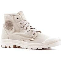 Zapatos Hombre Zapatillas altas Palladium Manufacture Pampa Hi 02352-238-M beige
