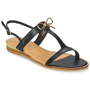 Zapatos Mujer Sandalias Elue par nous RSUCRE Negro