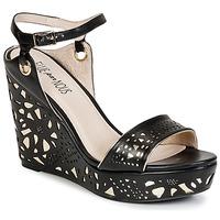 Zapatos Mujer Sandalias Elue par nous RIAZONE Negro