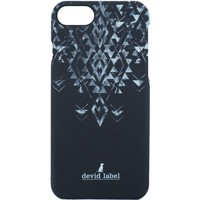 Bolsos funda móvil Devid Label GEOMETRIC IPHONE CASE | NERO |  | CVGEBK Noir