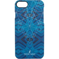 Bolsos funda móvil Devid Label GEOMETRIC IPHONE CASE | BLU |  | CVGEBL bleu