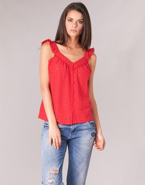Textil Mujer TopsBlusas Betty Kocla Rojo London lKc5TJuF13