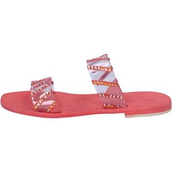 Zapatos Mujer Sandalias Eddy Daniele AW463 Rojo