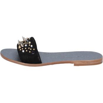 Zapatos Mujer Sandalias Eddy Daniele AX775 Negro