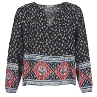 textil Mujer Tops / Blusas Casual Attitude WASAS Negro / Multicolor