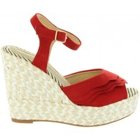 Zapatos Mujer Sandalias Maria Mare 67180 Rojo