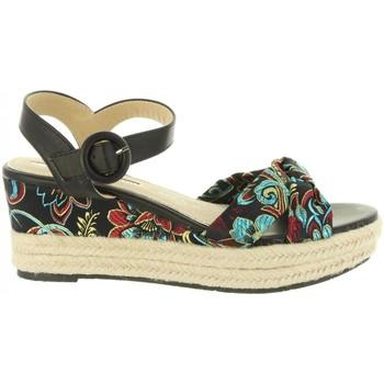 Zapatos Mujer Alpargatas Maria Mare 67004 Negro
