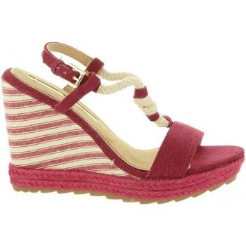 Zapatos Mujer Alpargatas Maria Mare 67109 Rojo