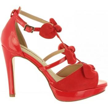 Zapatos Mujer Sandalias Maria Mare 67136 Rojo
