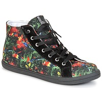 Zapatos Mujer Zapatillas altas Love Moschino JA15132G0KJE0000 Negro / Multicolor