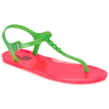 Zapatos Mujer Sandalias Love Moschino JA16381G0KJN180A Verde / Rosa
