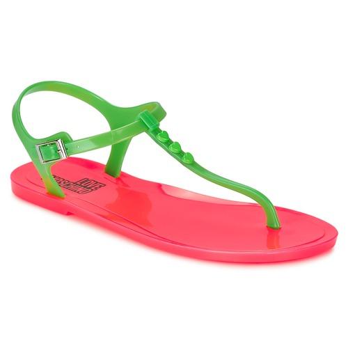 Cómodo y bien parecido Love Moschino JA16381G0KJN180A Verde / Rosa - Envío gratis Nueva promoción - Zapatos Sandalias Mujer