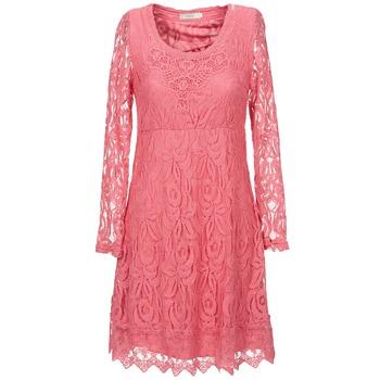 textil Mujer vestidos cortos Cream ANNEMON LACE Rosa