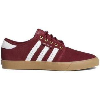 Zapatos Hombre Zapatillas bajas adidas Originals Seeley Color cereza