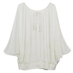 textil Mujer Tops / Blusas Cream DREY Crudo