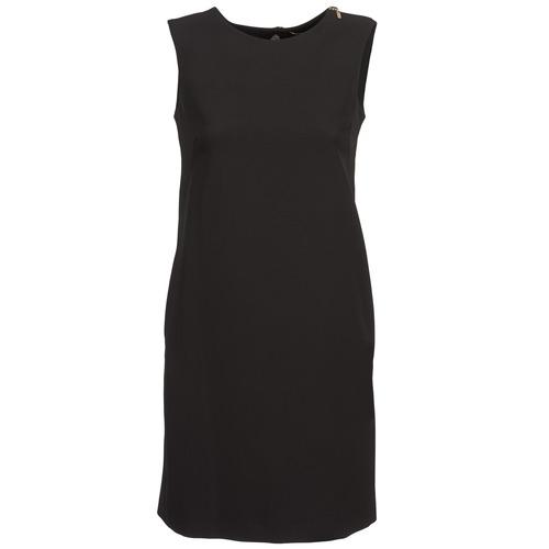 Mujer Vestidos Abha Textil Cortos Gaudi Negro CtshQrdx