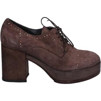 Zapatos Mujer Botines Moma botines marrón gamuza BX07 marrón