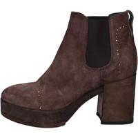 Zapatos Mujer Botines Moma botines marrón gamuza BX09 marrón
