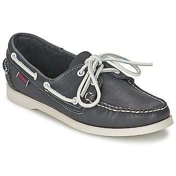 Zapatos Mujer Zapatos náuticos Sebago DOCKSIDES Azul