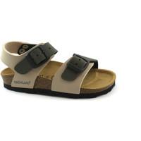 Zapatos Niños Sandalias Grunland GRU-CCC-SB0901-b-BO Beige